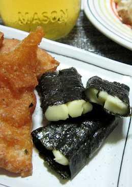 炙燒起司海苔捲