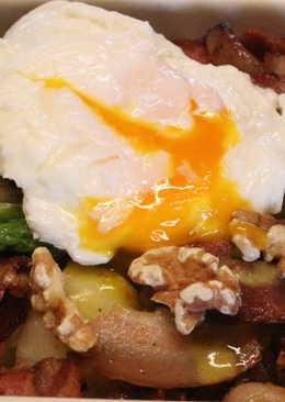 馬鈴薯培根蘆筍溫沙拉