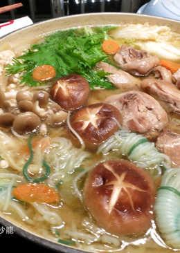 日式味噌雞肉鍋
