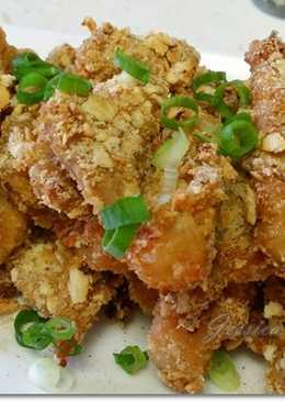 烤箱版ㄉ鹽酥豬柳