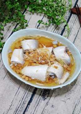 電鍋料理🍳豆豉虱目魚