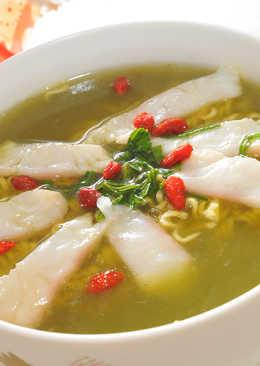 【味王泡麵創意秀】鯛魚茶泡麵 茶香暖胃