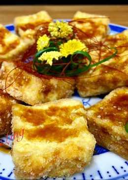 炸🐔雞蛋豆腐