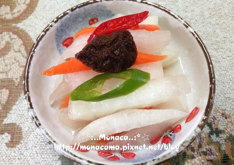梅子蘿蔔泡菜