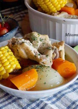 田園雞肉燉湯