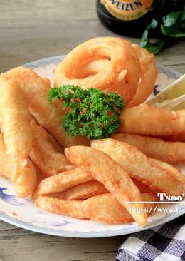 英式炸魚薯條拼盤
