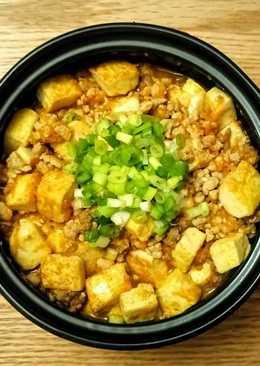 胡蘿蔔豬肉豆腐煲
