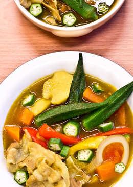 菲姐私房菜-鮮蔬湯咖哩