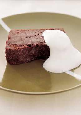 東販小食堂:融岩巧克力蛋糕