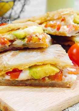 [亨氏番茄醬]蔥油餅三明治