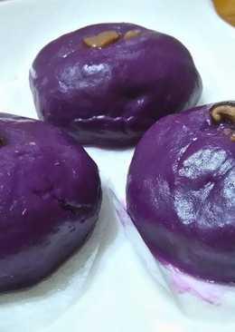 簡易紫地瓜包