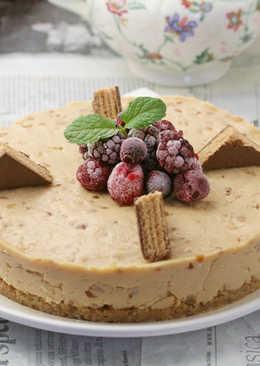 【家樂福廚房】免烤花生乳酪蛋糕