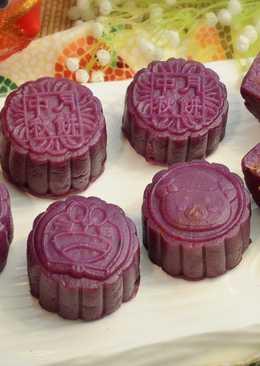 紫薯南瓜月餅