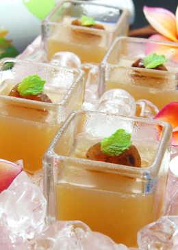 梅子綠茶蜂蜜果凍