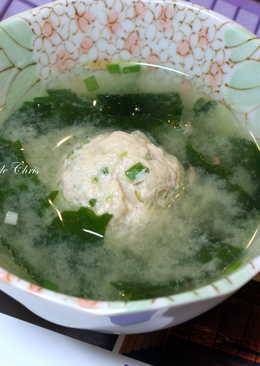 【醍醐味】雞肉丸子味噌湯
