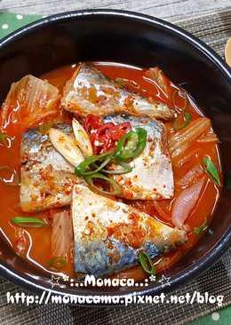 韓式泡菜鯖魚湯고등어찌개