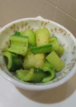 拌芥末黃瓜哈密瓜