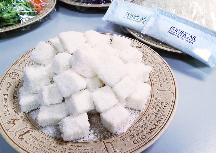 普力活蘋果椰香牛奶雪花糕(高雄分公司 提供)