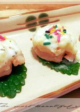 【假賢妻良母】 - 氣炸鍋做義式風味鳳梨蝦球