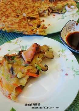 健康滿點-miki大豆蛋白海鮮煎餅-少油版