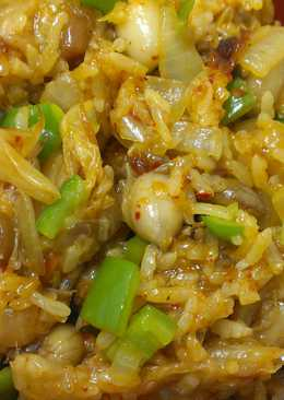 肉粽大變身~韓式拌飯