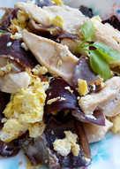 木耳炒雞片〞低醣低脂瘦身菜