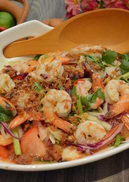 泰式涼拌酸辣蝦