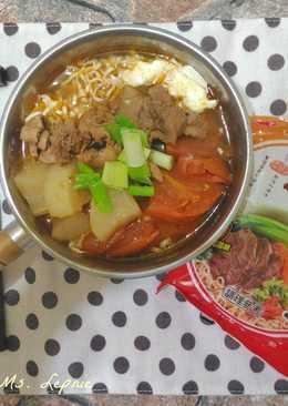 紅燒清燉番茄牛肉麵
