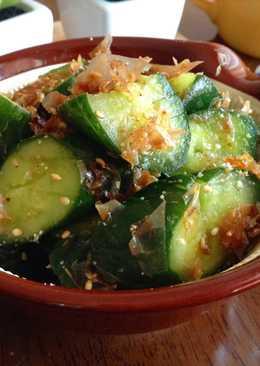柴魚芝蔴涼拌黃瓜