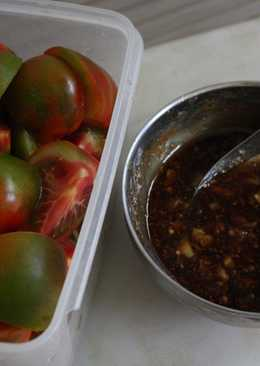 古早味番茄切盤+沾醬[有加甘草粉]