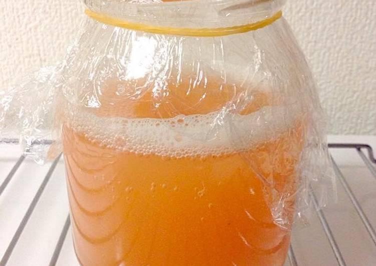 草莓酵母液