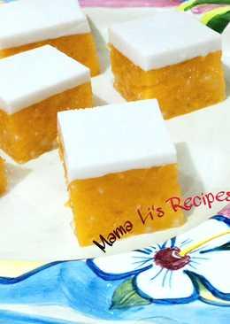 芒果西谷米涼糕