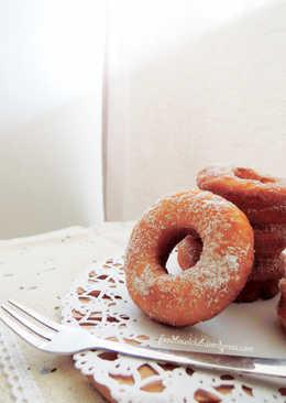 原味幸福甜甜圈-无蛋版