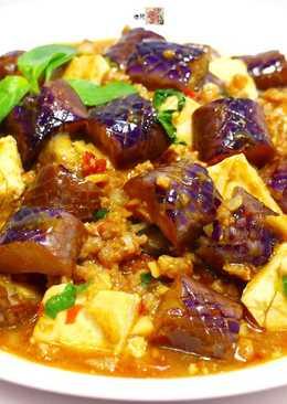 麻婆豆腐茄