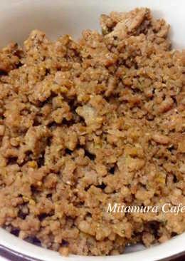日式肉燥(做法及冷涷保存方法)