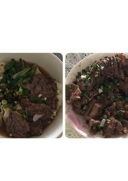 滷牛腱和簡易牛肉麵