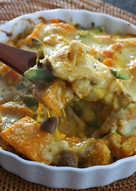 南瓜咖哩焗烤