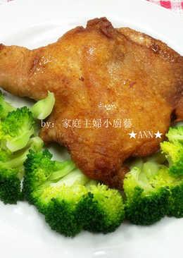 ★蝦醬煎雞腿★