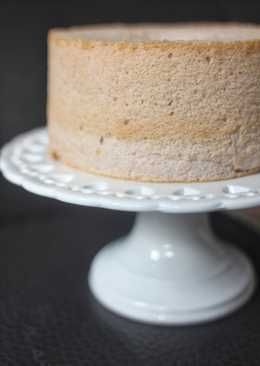紅桑莓戚風蛋糕