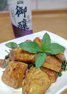【御釀燒烤滋味】三杯紅燒豆腐