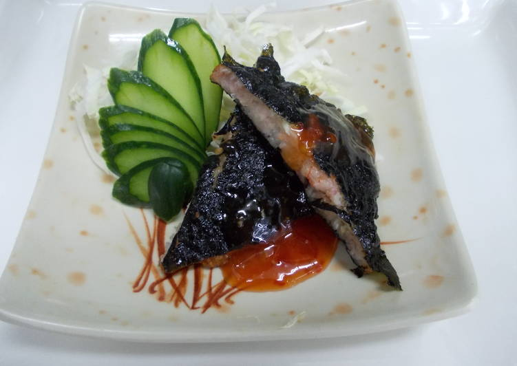 海苔月亮蝦餅