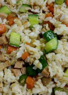 小黃瓜炒飯(素食)