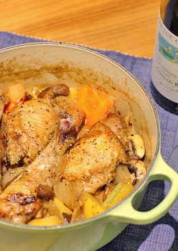 法式白酒馬鈴薯燉雞