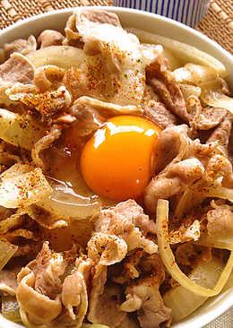 吉野家風味牛丼