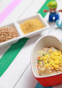 米麥魚蛋粥