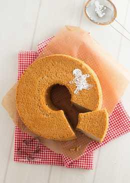 蜂蜜薑味戚風蛋糕- 聖誕趴伴手禮