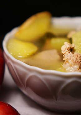 霜降 : 蘋果海帶豬肉湯