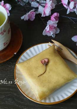 【春天限定】櫻花奶油可麗餅