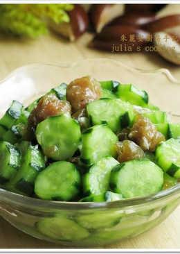 [紫蘇梅小黃瓜]開胃涼拌菜