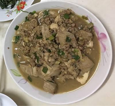 醬燒豬肉豆腐